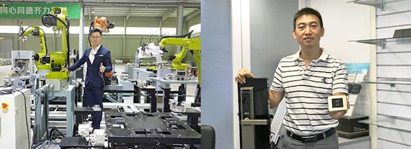(左图)科宜思创办人霍展邦(右图)信邦智能科技有限公司创办人林宗德