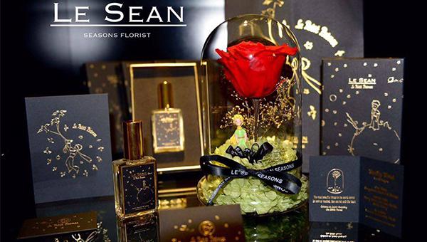 LE SEAN 经典小王子-玫瑰摆设系列