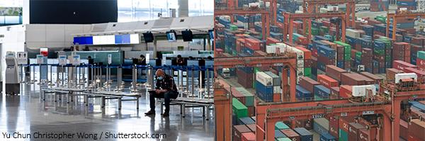 香港旅游业及货物进出口
