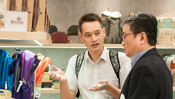 """香港贸发局在内地设有40多个""""香港˙设计廊""""销售点"""