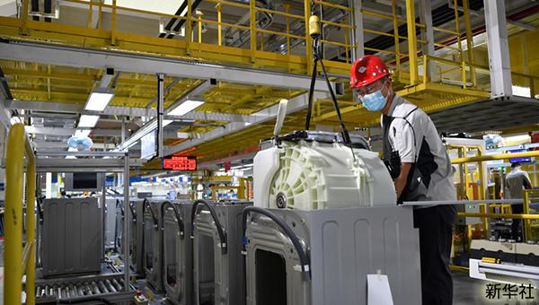 天津海尔洗衣机互联工厂
