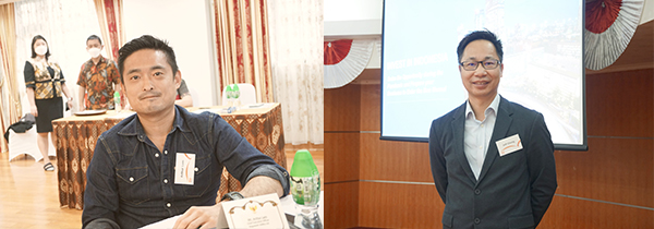 (左图)林忠泽(右图)郑小龙博士