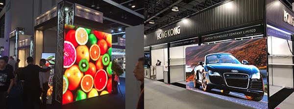 (左图)Lightech参与香港国际灯饰展(右图)Lightech跟随香港贸发局到访迪拜参展