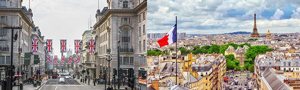 英法两国因应疫情封城