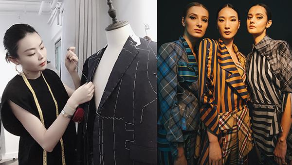 Bettie Haute Couture设计师蒋韵薇(左图)
