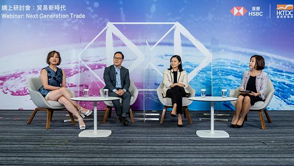 (左起)邝晓文、韦益敦、黄雅丽、叶嘉明