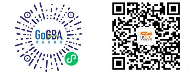 (左图)GoGBA 微信小程序(右图)GoGBA微信订阅号