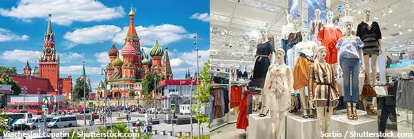 俄罗斯时装市场