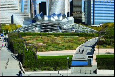 One of the most-visited public spaces in North America, Millennium Park attracted some 3.65 million