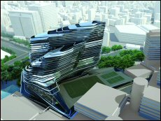 The Design Institute for Social Innovation, designed by renowned architect Zaha Hadid, is expected t