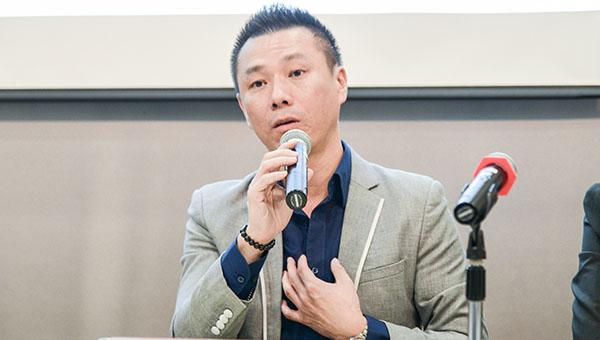 高盛國際物流董事長俞志輝