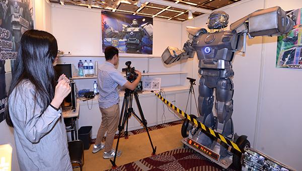 「機械人及無人操控技術」展區