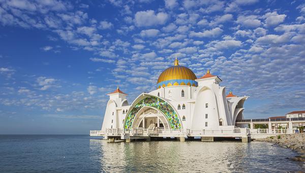 馬六甲海峽古時稱為「海上絲綢之路
