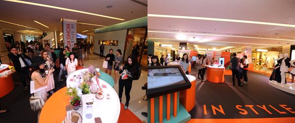 Hong Kong Galleria展區