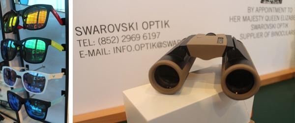 (左圖)Sodamon;(右圖)Swarovski Optik