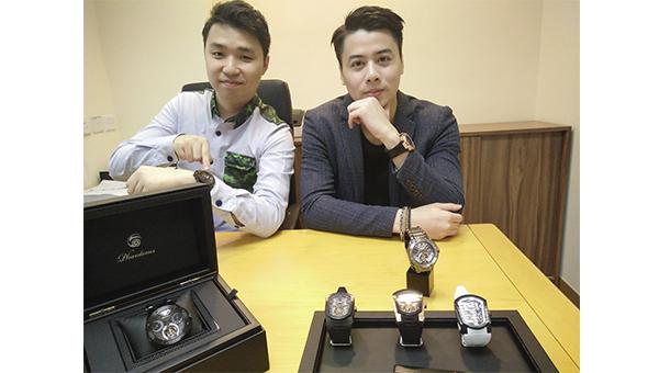 林冠勤(右)和羅傑智(左)