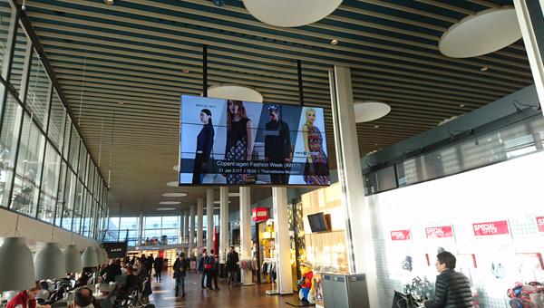 哥本哈根機場宣傳廣告