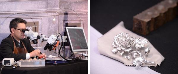 珠寶工藝介紹及示範。