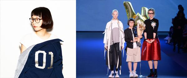 黃麗茹(左圖)女裝系列「Backpacker」