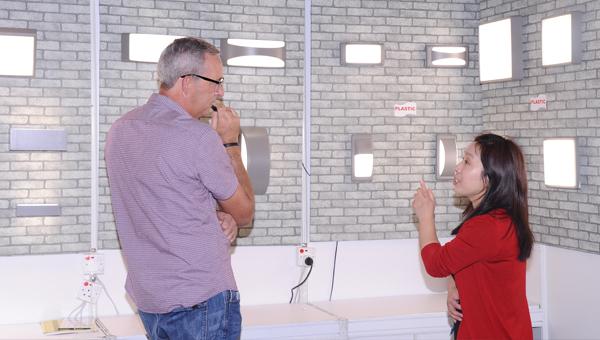 「LED 及環保照明」展區