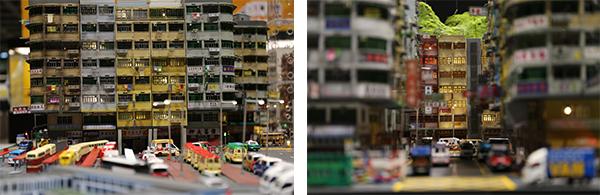 香港街景模型