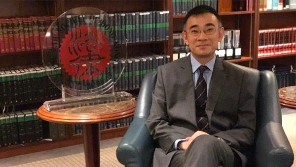 香港律師會會長蘇紹聰