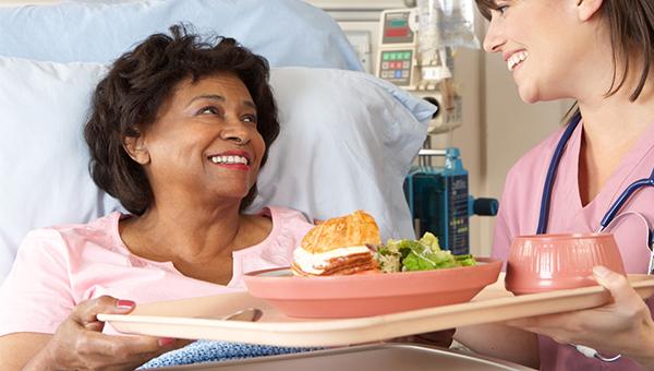 病人的飯餐