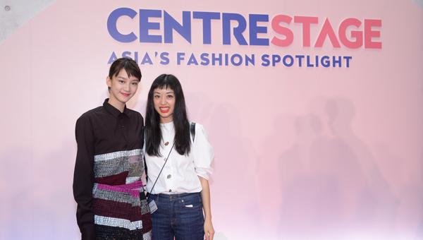 Fiona Lau(右)與袁澧林(Angela Yuen)