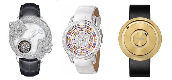 香港鐘表展網羅各式各樣的時尚腕表