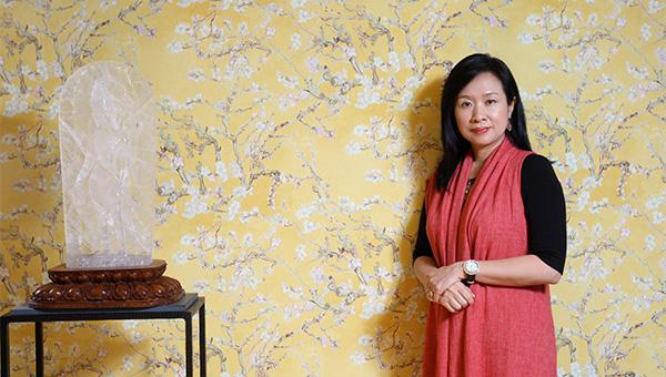 梵高名畫《杏花》的牆紙