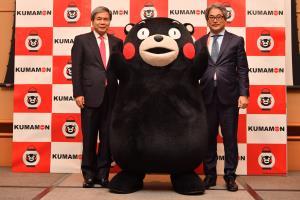 蒲島郁夫(左)及野田孝寬(右)