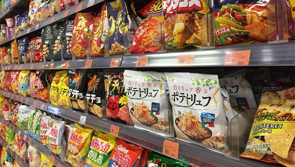 日本對香港出口食品