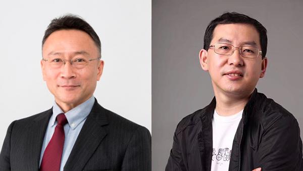 「無印良品」的株式会社良品計画總監鈴木啟(左圖)及京東集團副總裁門繼鵬(右圖)