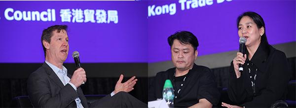 David Kosse(左圖), 姜慧定(右圖,右)