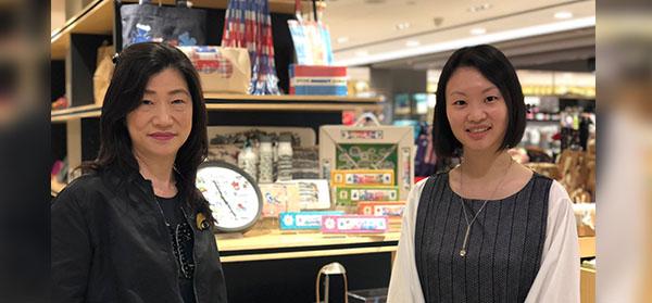 蕭琬璍(左), 張凱欣(右)
