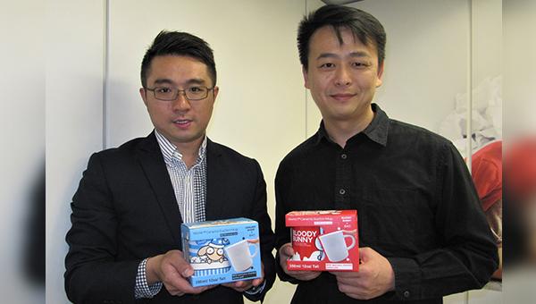 蔡光榮(右), 李志峰(左)