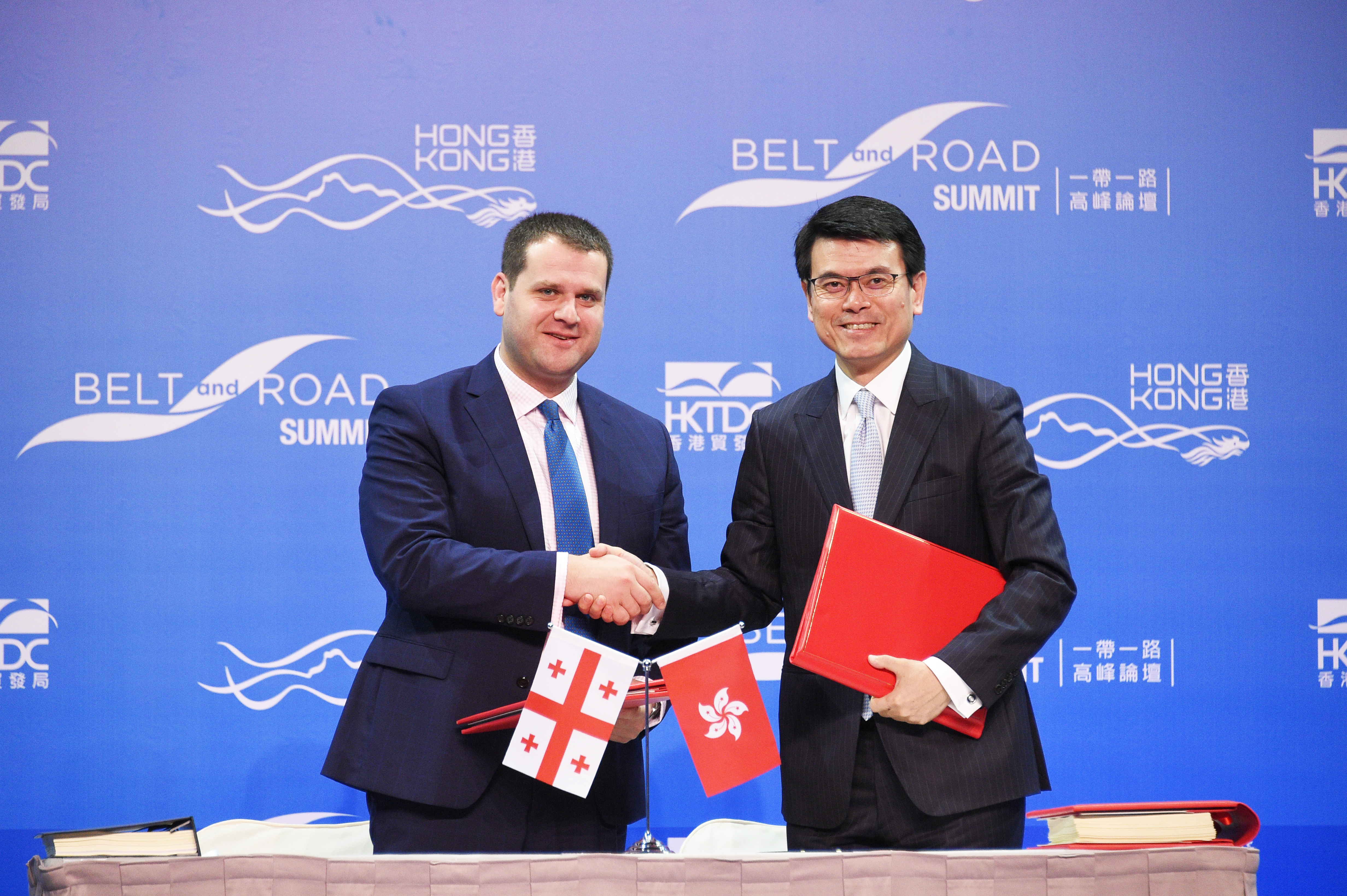 香港與格魯吉亞簽署自貿協定