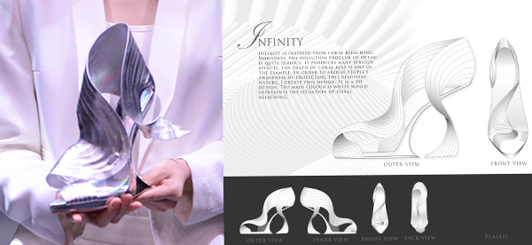 「Infinity」高跟鞋