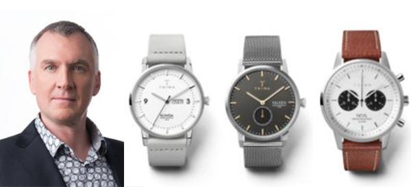 Mark Parker及TRIWA 2018夏季系列手錶