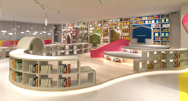 餐飲與書店合一的「童心館」