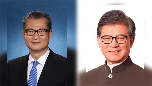 陳茂波(左圖), 羅康瑞(右圖)