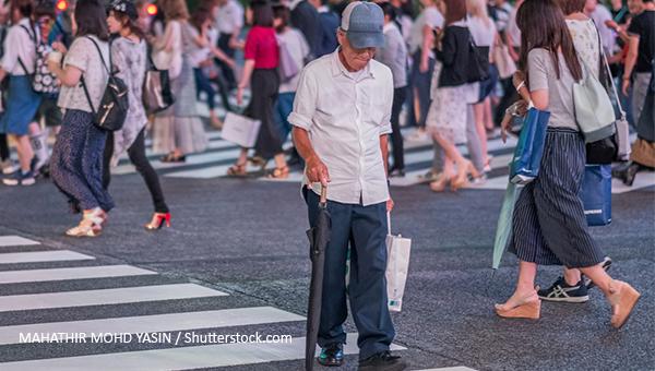 日本人口老化