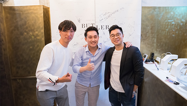 (左起)馬筠皓、林樂宜及陳德鴻