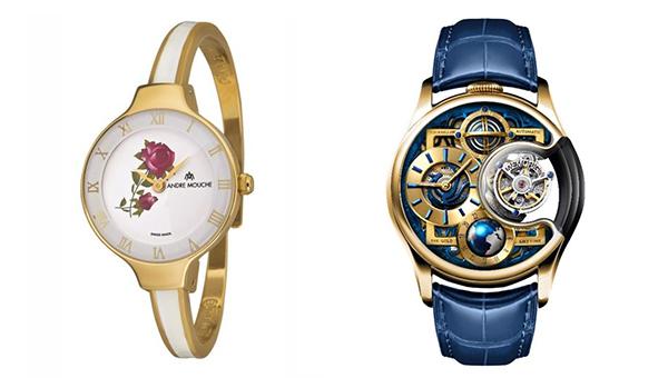 左圖:ELLA 424-01101手表, 右圖:尊爵版星恆系列手表