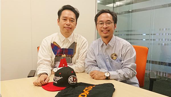 陳俊邦(左), 陳俊維(右)