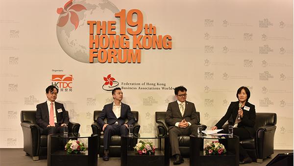 左起: 盧煜明, 溫豪夫, 楊聖武