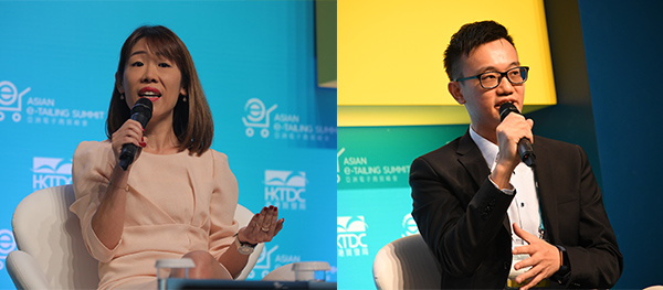張燕妮(左圖), 廖英翔(右圖)