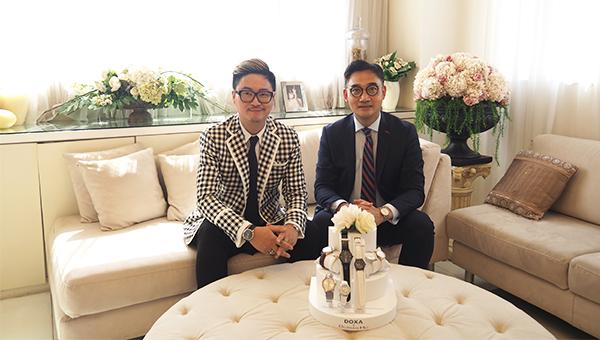 何國鉦(左), 劉偉華(右)