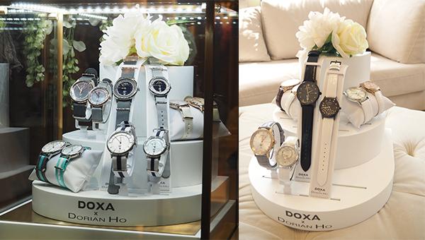 「DOXA x Dorian Ho」腕錶系列