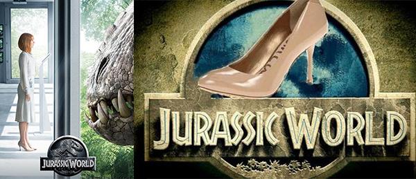 《侏羅紀公園》高跟鞋